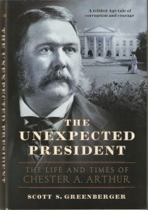Chester A. Arthur book review by Fred Michmershuizen