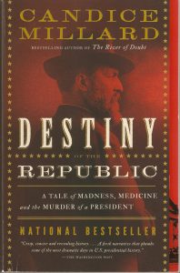President Garfield book review Fred Michmershuizen