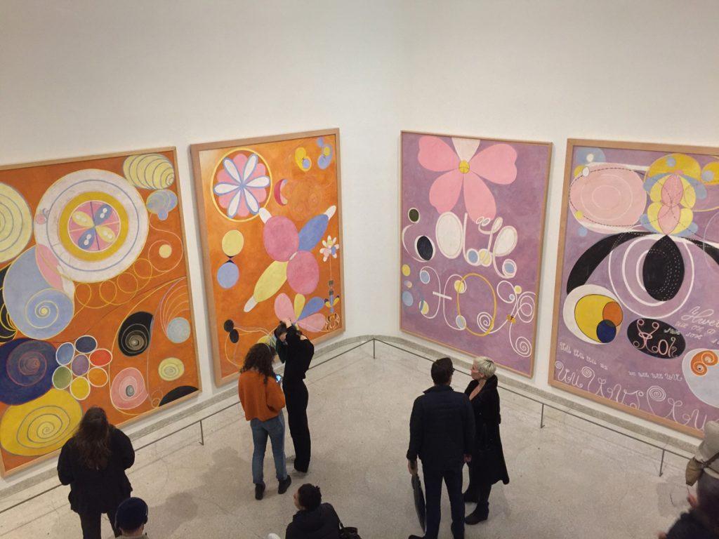 Hilma af Klint exhibition at the Guggenheim