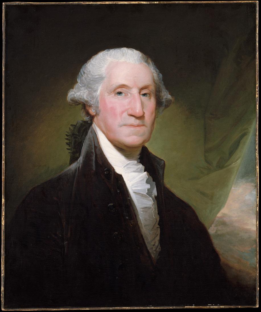 President George Washington, Gilbert Stuart (1795)