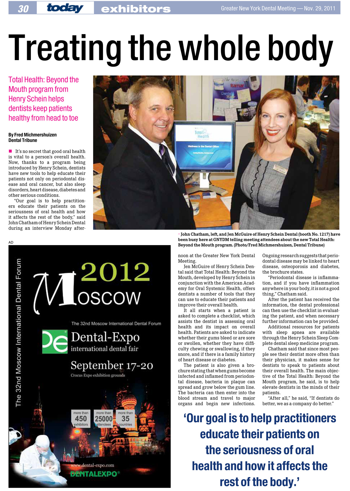 Fred Michmershuizen dental industry