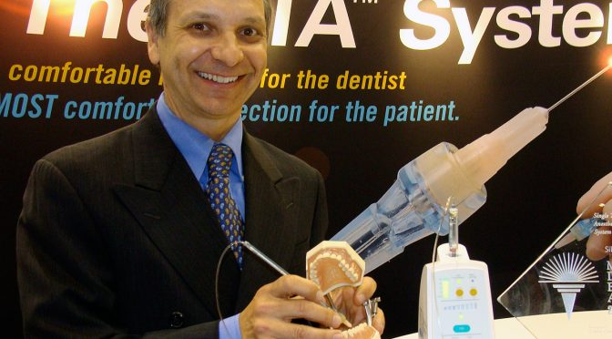 Interview with a dentist who invented a pain management system