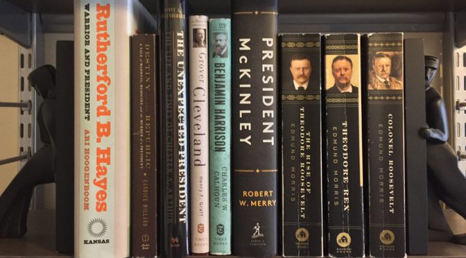 Update on reading biographies of all the presidents
