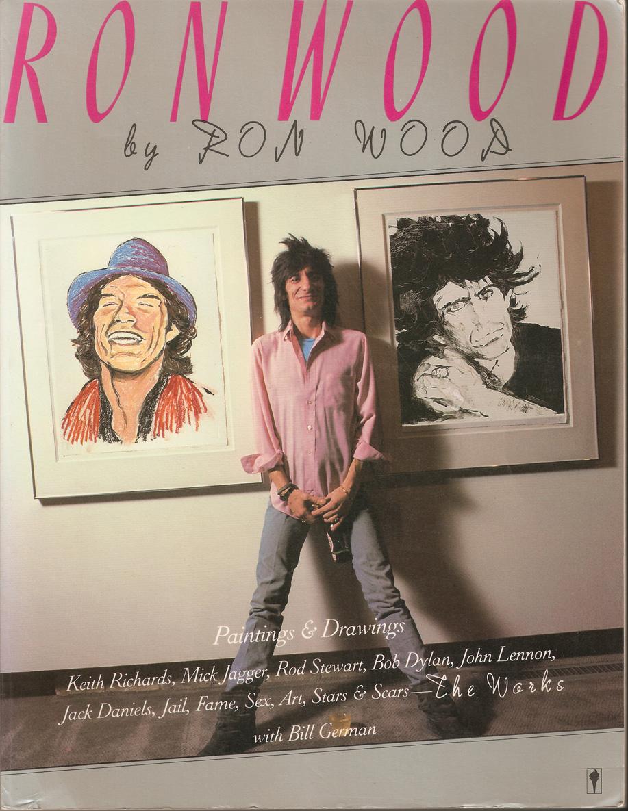 Bill German Ron Wood book