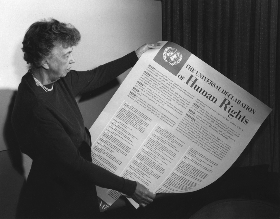 Eleanor Roosevelt Universal Declaration of Human Rights
