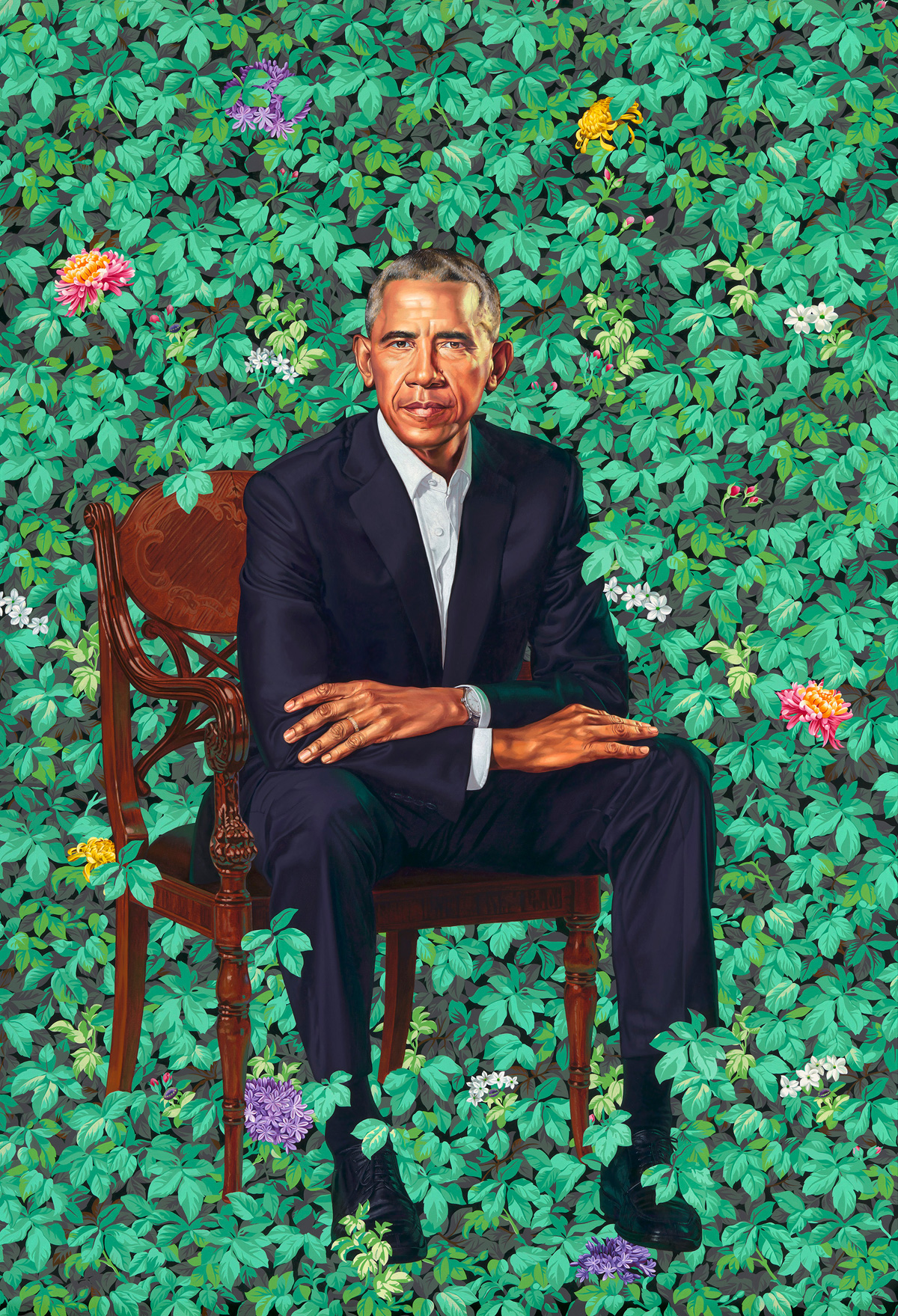 Kehinde Wiley Barack Obama